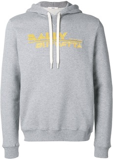 Bally embroidered logo hoodie