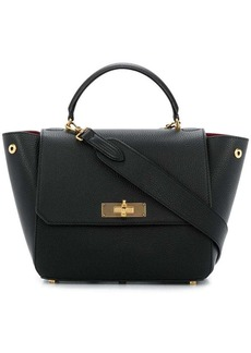 Bally foldover top tote bag