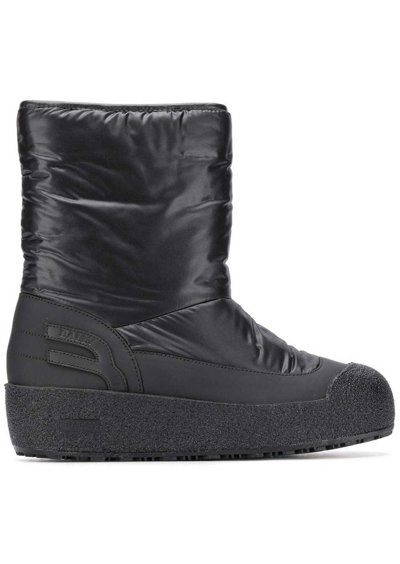 Bally fur-lined boots