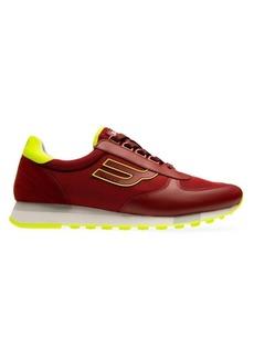 Bally Galaxy Gavino Leather & Mesh Low-Top Sneakers