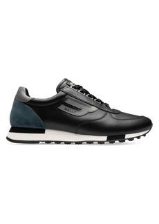 Bally Galaxy Gavino Retro Leather Sneakers