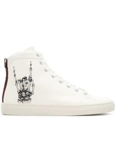Bally hand x-ray sneakers