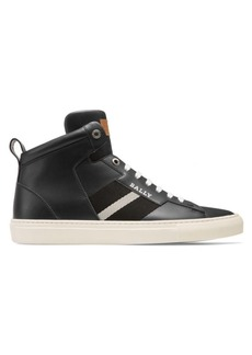 Bally Heimberg Hedern New Leather High-Top Sneakers