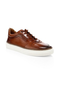 Bally Hens Leather Sneakers