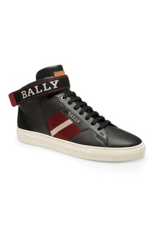 Bally Heros Leather High-Top Sneakers