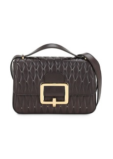Bally Janelle Quilted Leather Bag W/studs