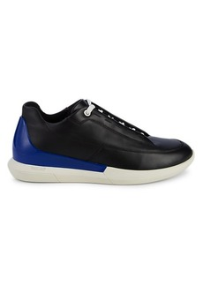 Bally Lace-Up Leather & Rubber Sneakers