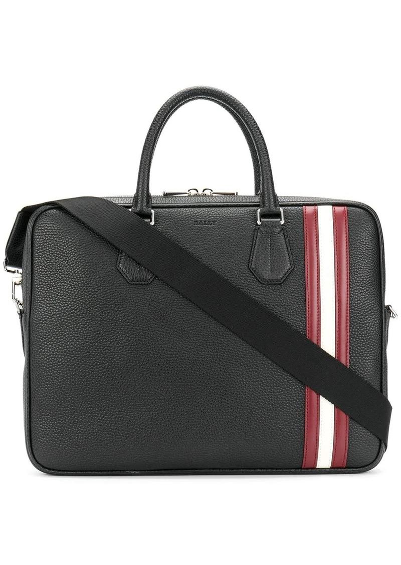 laptop bag with Bally Stripe trim