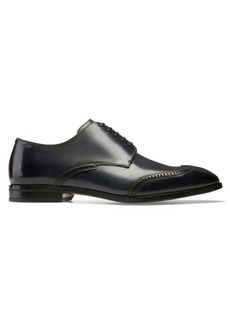 Bally Lione Liniz Wing Tip Leather Derby Shoes