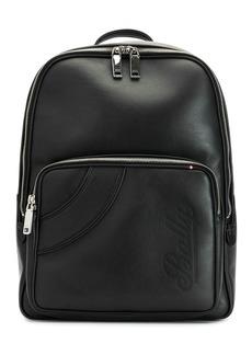 Bally logo embossed backpack