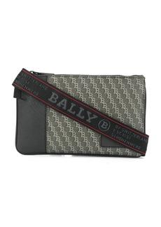 Bally logo print shoulder bag