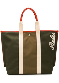 Bally logo shopper tote