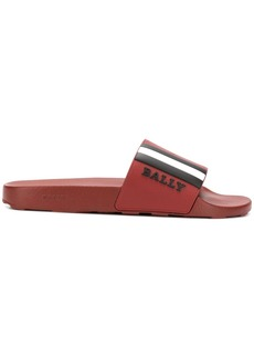 Bally logo stripe slides