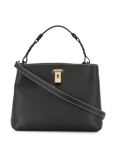 Bally Lucyle pebbled tote bag