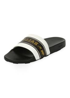 Bally Men's Ani 9 Rubber Pool Slide Sandals