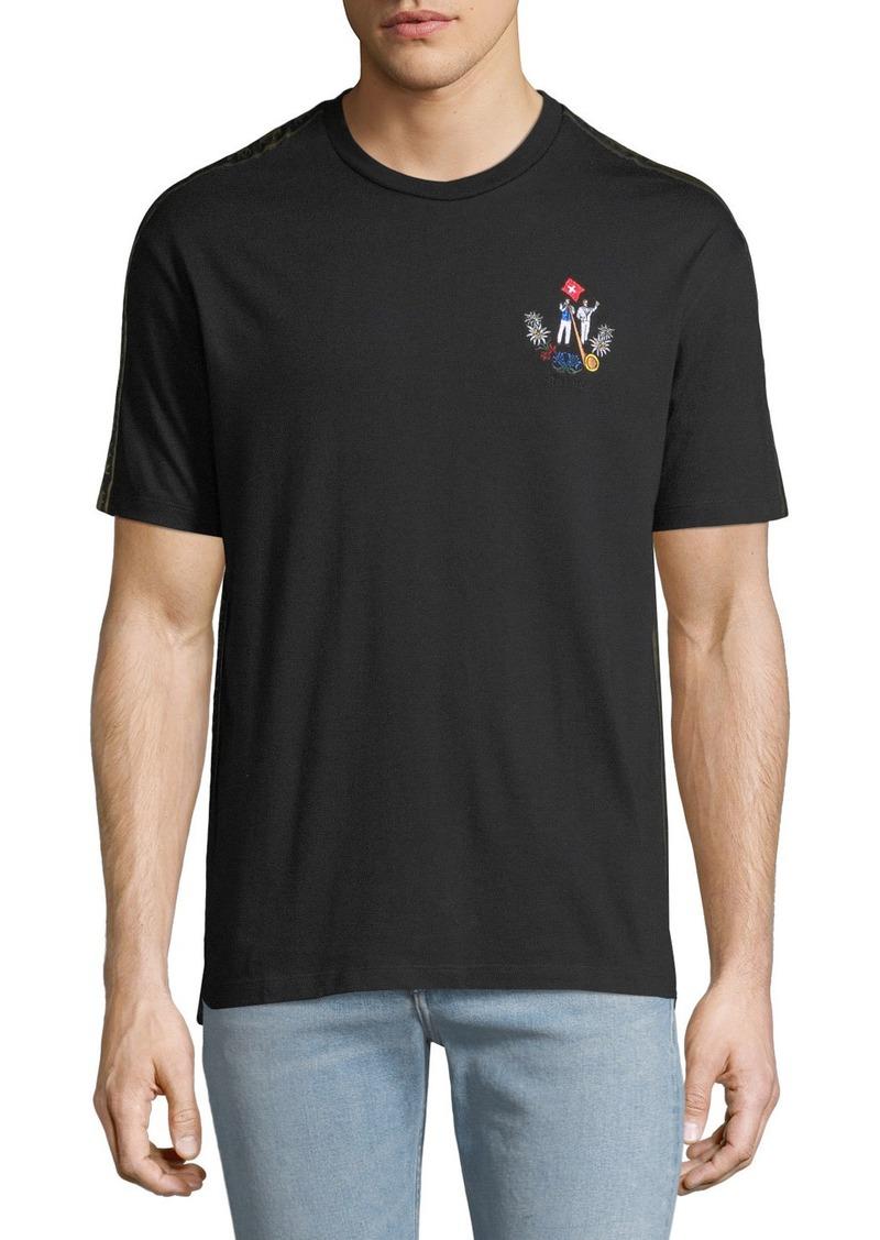 20486b2c Bally Men's Animals Contrast-Trim T-Shirt Black | Casual Shirts
