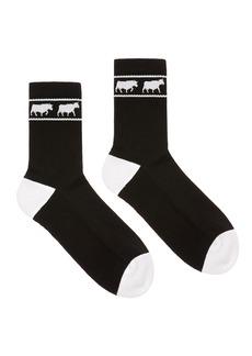 Bally Men's Animals Tube Socks