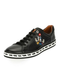 Bally Men's Anistern 10 Leather Low-Top Sneakers