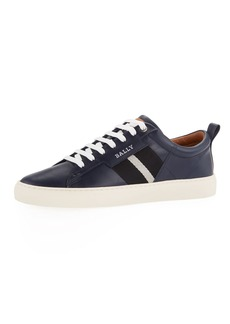 Bally Men's Helvio Calf Leather Low-Top Sneakers