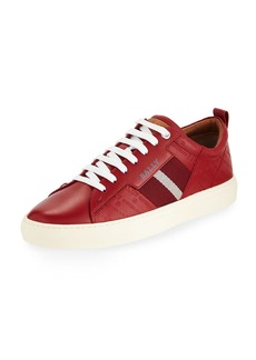 Bally Men's Helvio Embossed Low-Top Sneakers
