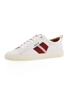 Bally Men's Helvio Leather Low-Top Sneakers