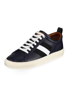 Bally Men's Henton Low-Top Sneakers  Navy