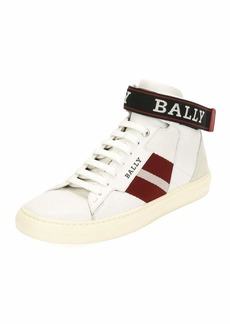 Bally Men's Heros High-Top Sneakers with Ankle Grip-Strap