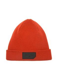 Bally Men's Logo-Patch Wool Beanie Hat