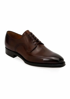 Bally Men's Scamardo Leather Derby Dress Shoes