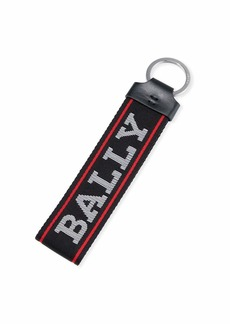Bally Men's Web Loop Key Ring