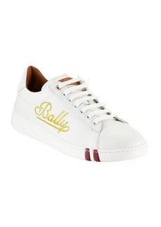 Bally Men's Winston Logo-Embroidered Low-Top Sneakers