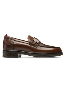 Bally Moe Leather Loafers