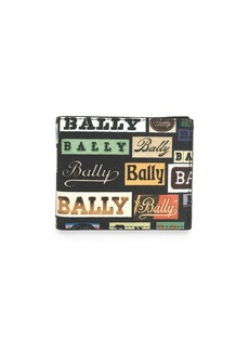 Bally Multi-Logo Leather Wallet