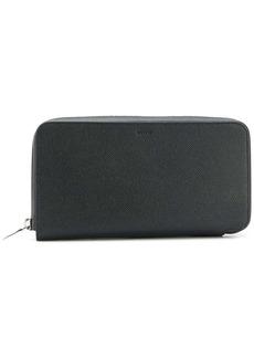 Bally multiple card slots zipped wallet