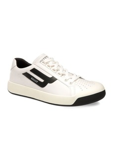 Bally New Competition Retro Leather Low-Top Sneakers