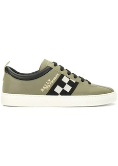 Bally panelled low top sneakers