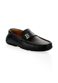 Bally Pievo Leather Drivers