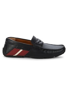 Bally Piotre Leather Driving Loafers