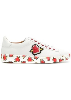 Bally printed sneakers