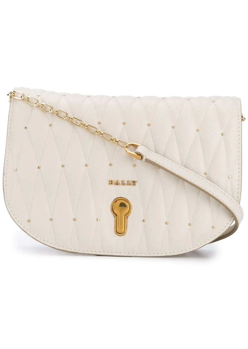 Bally quilted mini bag