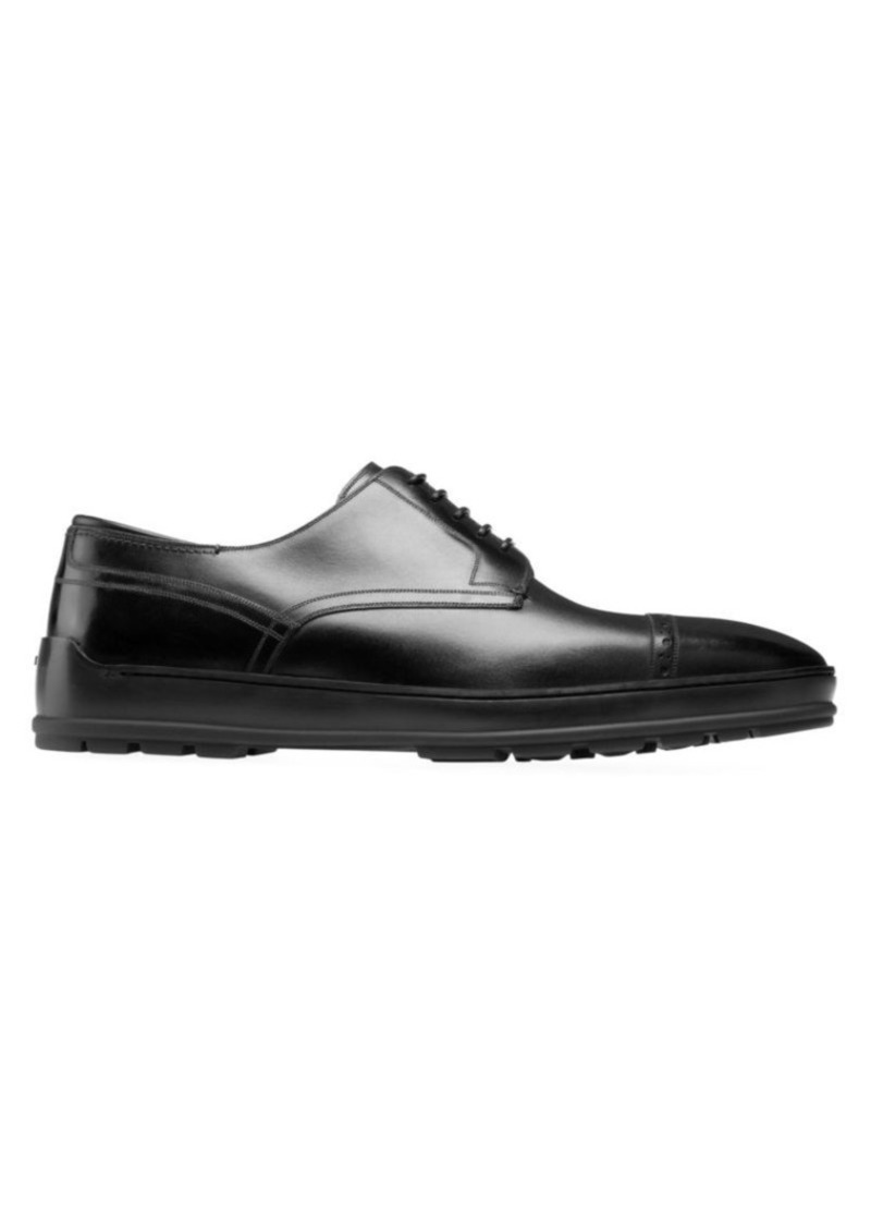 Bally Renoir Reigan Leather Derby Dress Shoes