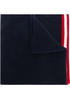 Bally ribbed knit scarf