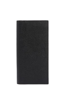 Bally Saffiano Leather Vertical Wallet