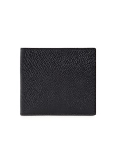 Bally Pebbled Leather Coin Wallet
