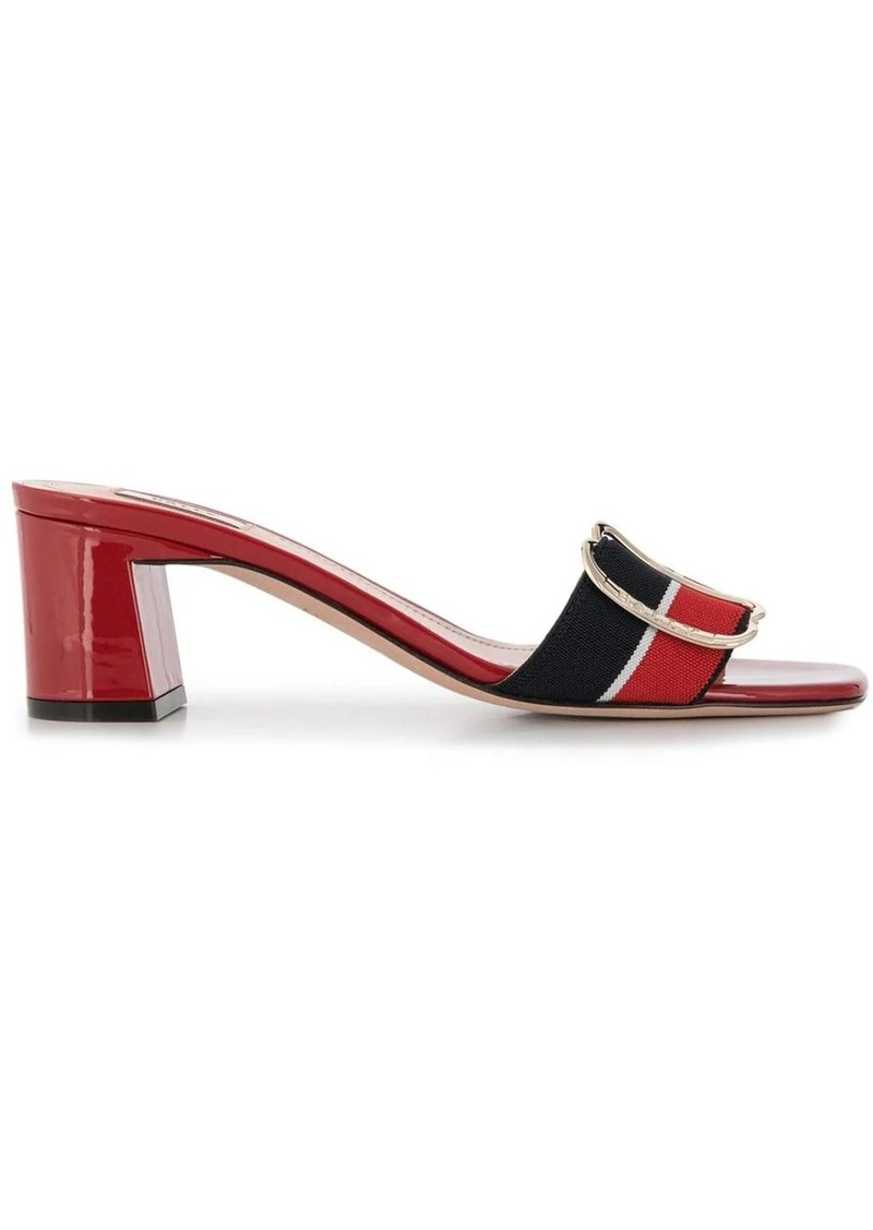 Bally side buckle sandals