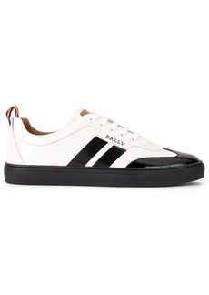 Bally side striped sneakers