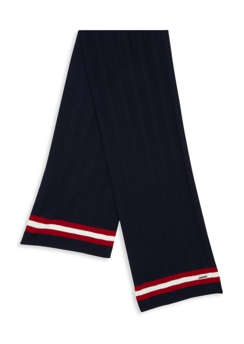 Bally Signature Stripe Wool Scarf