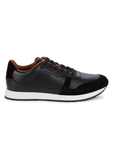 Bally Sprinter Perforated Leather Sneakers