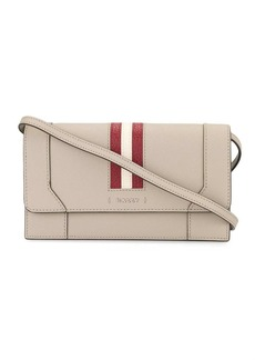 Bally Stafford stripe wallet