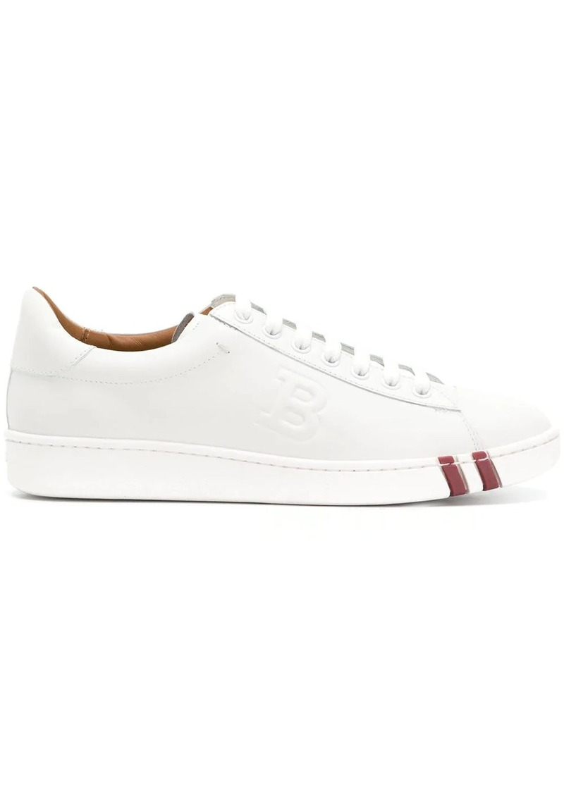 Bally stitched B sneakers